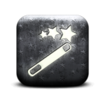 130594-whitewashed-star-patterned-icon-business-magic-wand